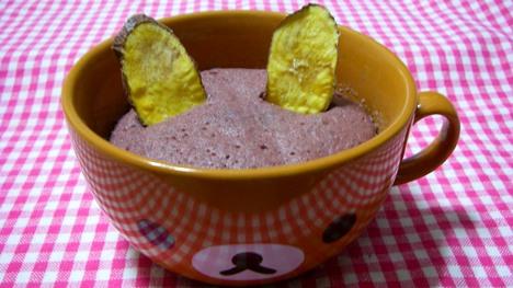 プロティンダイエットケーキ紫芋