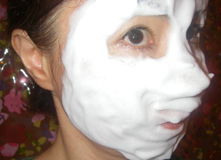 顔を洗ってるわたし