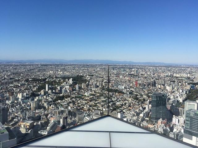 渋谷スカイの眺め