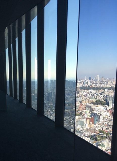 渋谷スカイ屋内