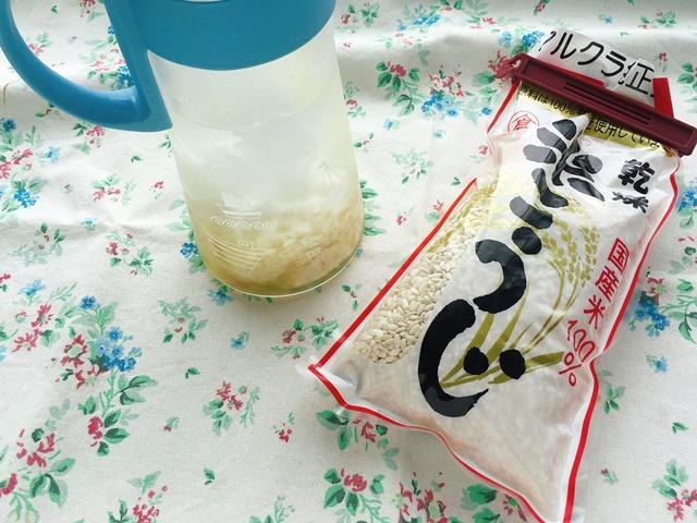 米麹でつくる
