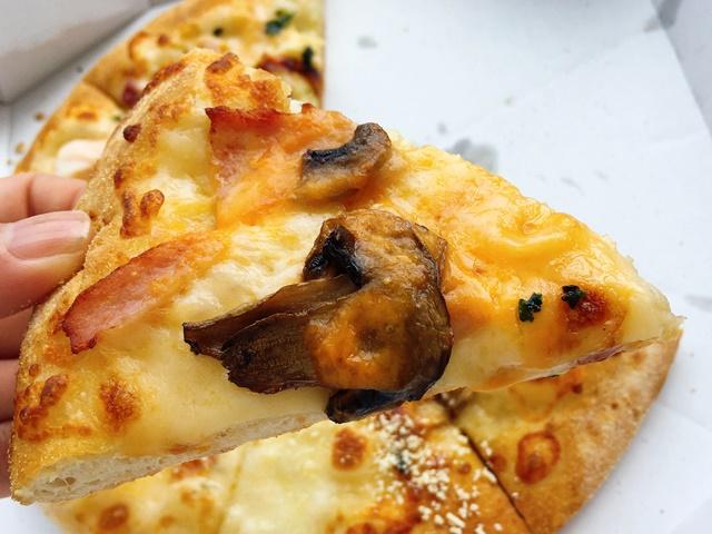 ドミノピザ チェダーチーズとハム