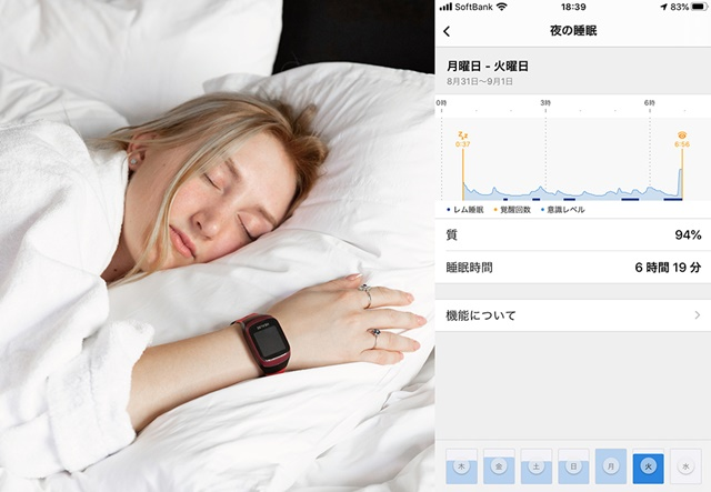GoBe3睡眠
