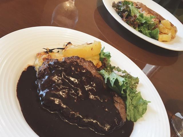 レストラン大宮 ハンバーグステーキ